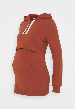 HOODIE - Jersey con capucha - cayenne
