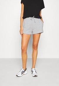 Gina Tricot - ABBIE - Shorts - light grey melange - 0