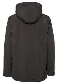 Protest - Snowboard jacket - dark green/mottled dark green/orange - 1