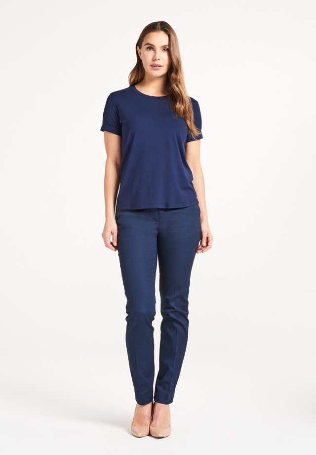 CARA  - T-shirt basic - navy