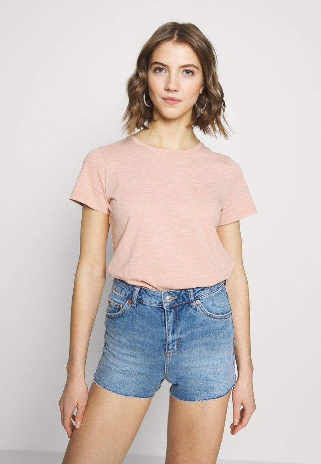 THE CREW - Basic T-shirt - dusty blush