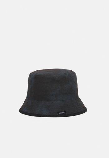 WASHED BUCKET HAT UNISEX - Cappello - black