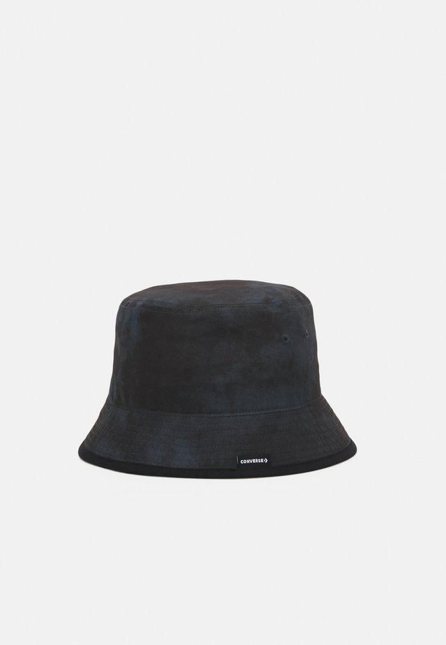 WASHED BUCKET HAT UNISEX - Hat - black