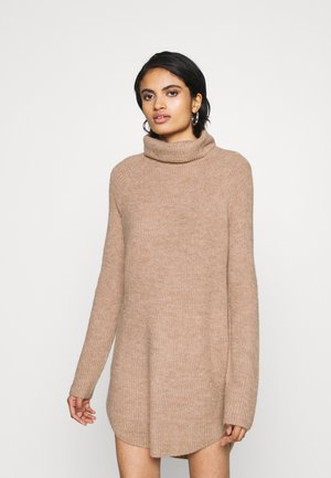 PCELLEN LONG - Sweter - natural