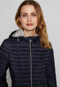 Barbara Lebek - STEPP MIT KAPUZE - Light jacket - navy - 3