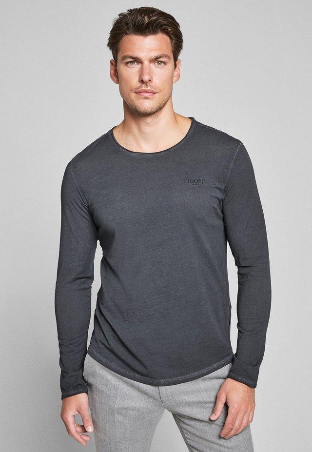 CARLOS - Long sleeved top - grau-schwarz