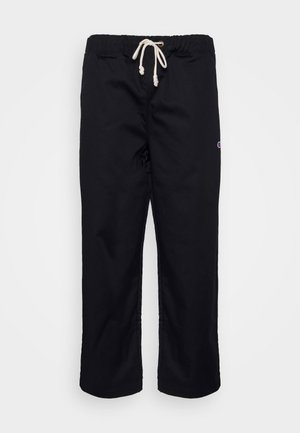 STRAIGHT HEM PANTS - Tracksuit bottoms - black