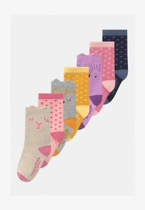 TODDLER GIRL CRITTER 7 PACK - Socks - multi-coloured