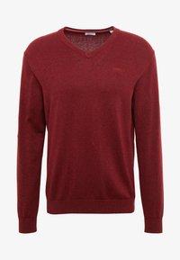 Pullover - dark red