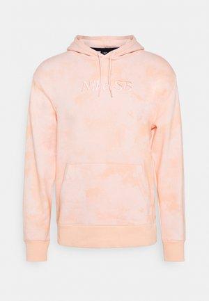 HOODIE UNISEX - Sweatshirt - orange pearl/coconut milk