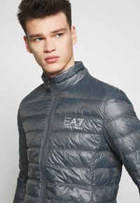 EA7 Emporio Armani - Down jacket - iron gate - 3