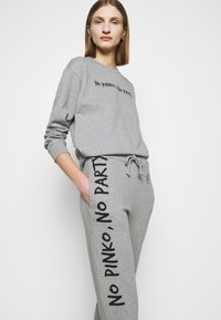 Pinko - ENOLOGIA - Tracksuit bottoms - grey - 4