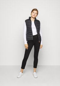 Save the duck - GIGAY - Waistcoat - black - 1