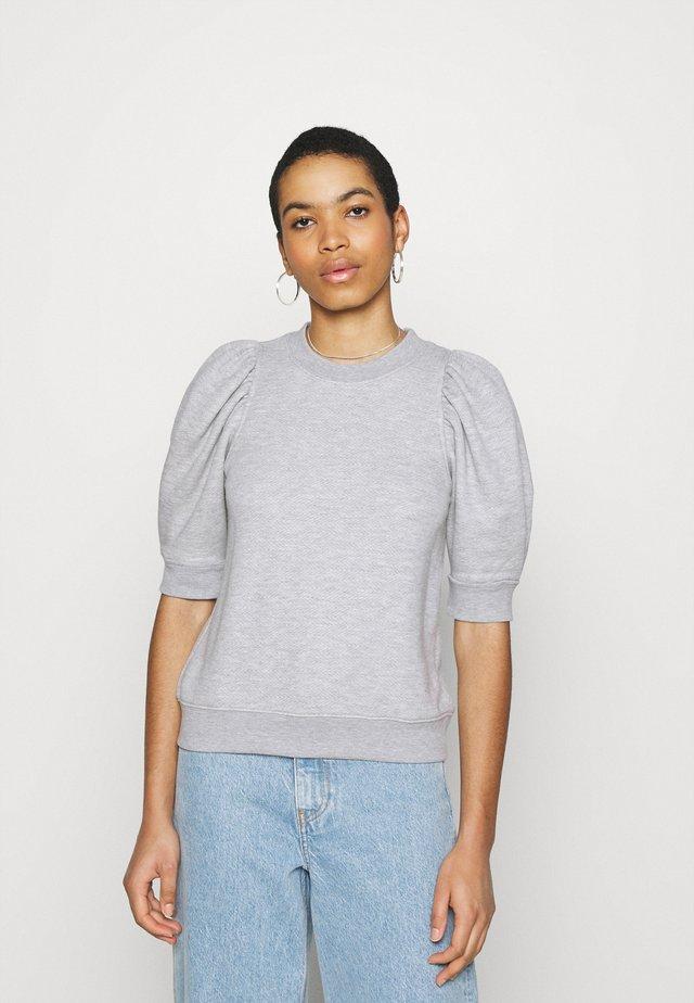 DAWNI TEE - Print T-shirt - grey melange
