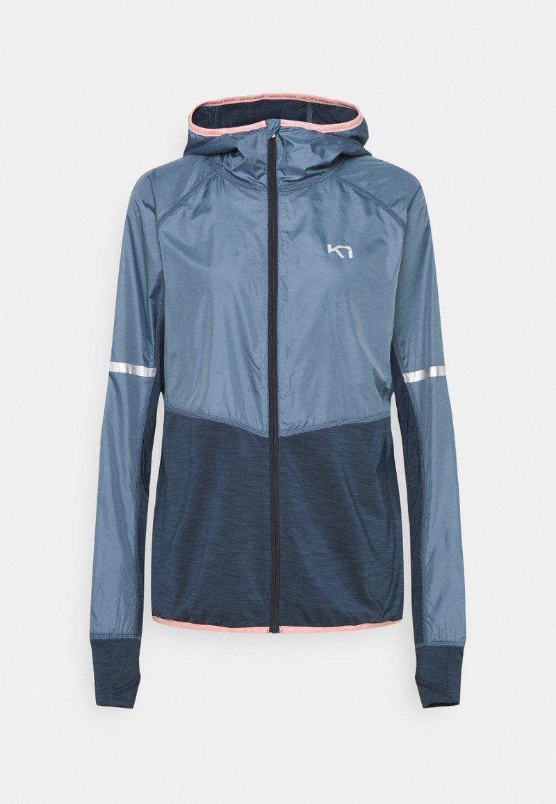Kari Traa - JULIE HOOD - Outdoor jacket - blue