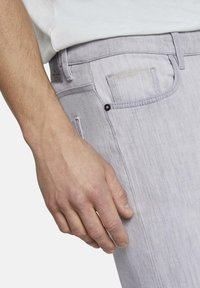 TOM TAILOR - TROY - Slim fit jeans - light stone grey denim - 4