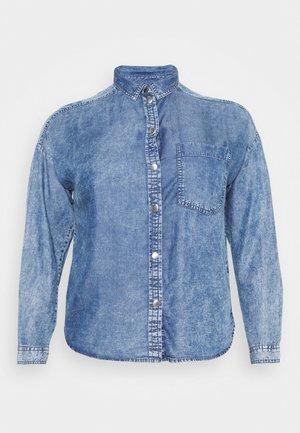 CARTHEODORA LIFE LOOSE - Button-down blouse - blue indigo