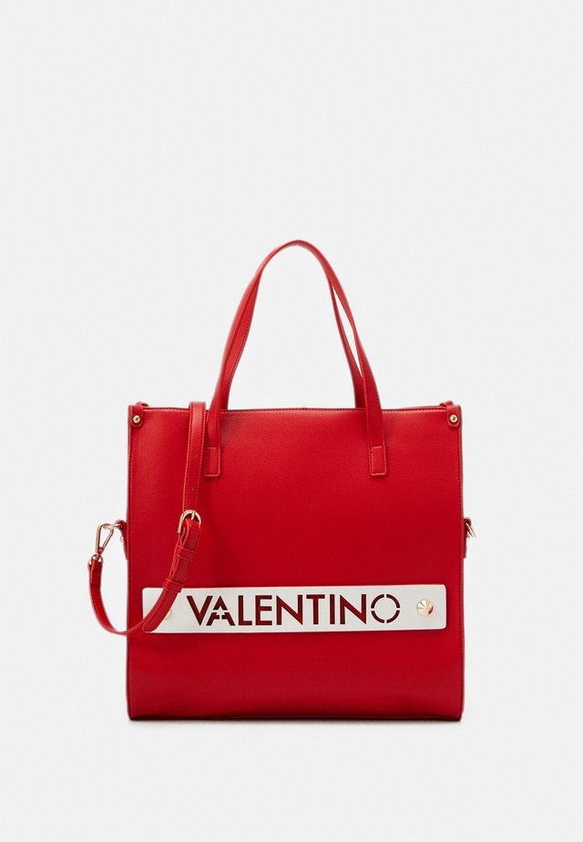 FLORES - Shopping bag - rosso