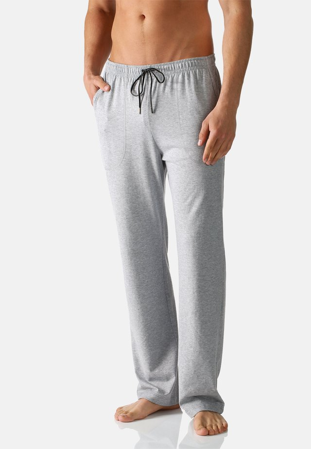 Pyjama bottoms - grau melange