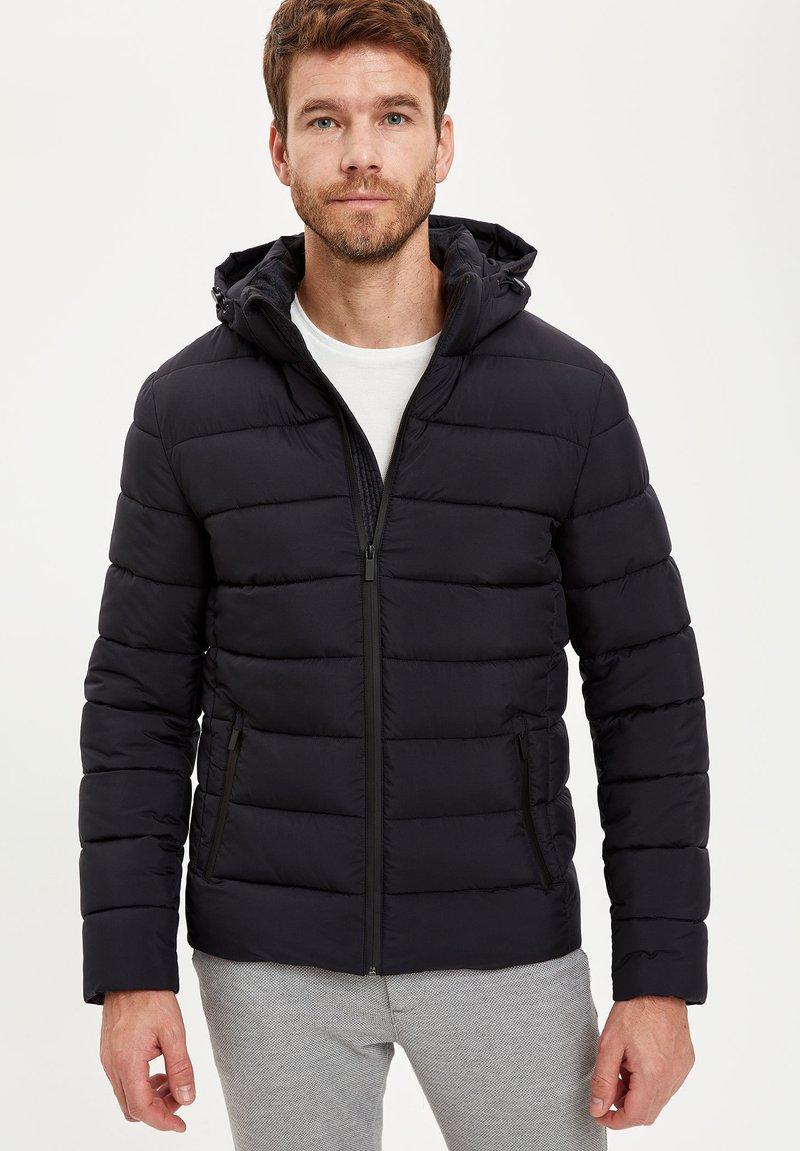 DeFacto - Veste d'hiver - black