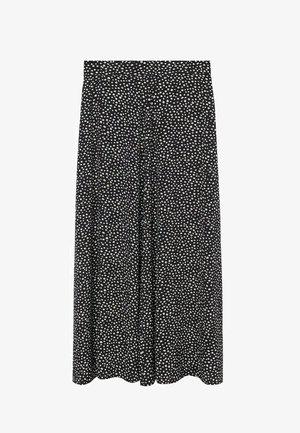 BOMBAY - Áčková sukně - schwarz