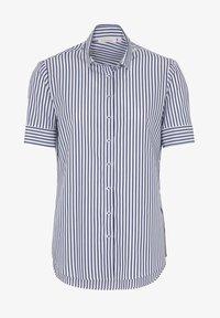 Eterna - MODERN CLASSIC - Button-down blouse - blue/White - 3