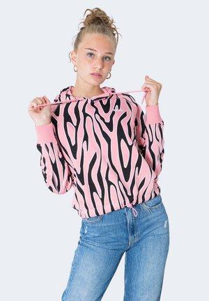 EMBLA AOP - Felpa con cappuccio - pink