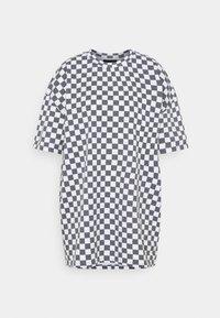 NEW girl ORDER - WHITE CHECKERBOARD TEE - Print T-shirt - black/white - 0