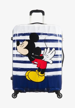 DISNEY LEGENDS ALFATWIST - Wheeled suitcase - dark blue