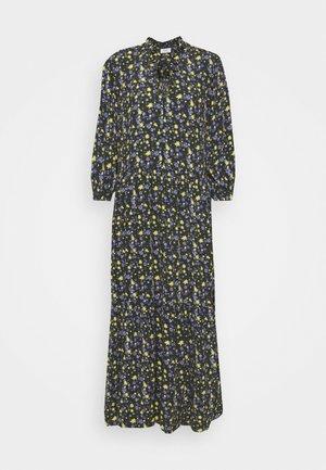 RUFFLE AT WAIST 3/4 SLEEVE - Maxi dress - multi/burnished logs
