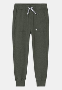 Abercrombie & Fitch - LIGHTWEIGHT - Pantalones deportivos - olive - 0