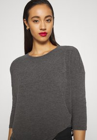 ONLY - ONLGLAMOUR - Strickpullover - dark grey /  melange - 5