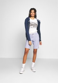 Superdry - TRACK FIELD ZIPHOOD - Hettejakke - navy - 1