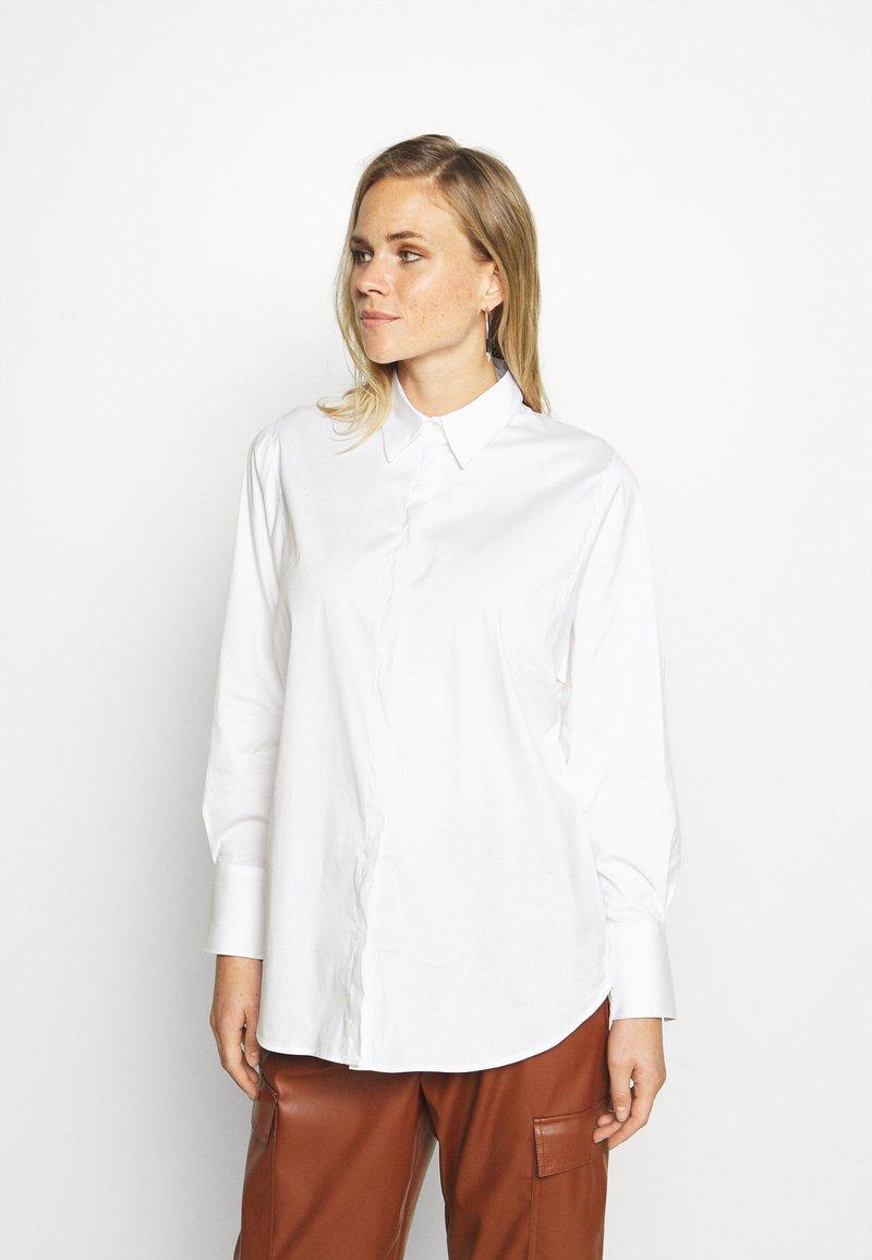 Mos Mosh - ENOLA SHIRT - Blouse - white