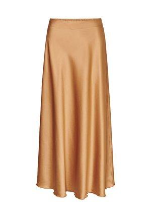 VMCHRISTAS H/W LONG SKIRT SB2 - Pliceret nederdel /Nederdele med folder - tobacco brown