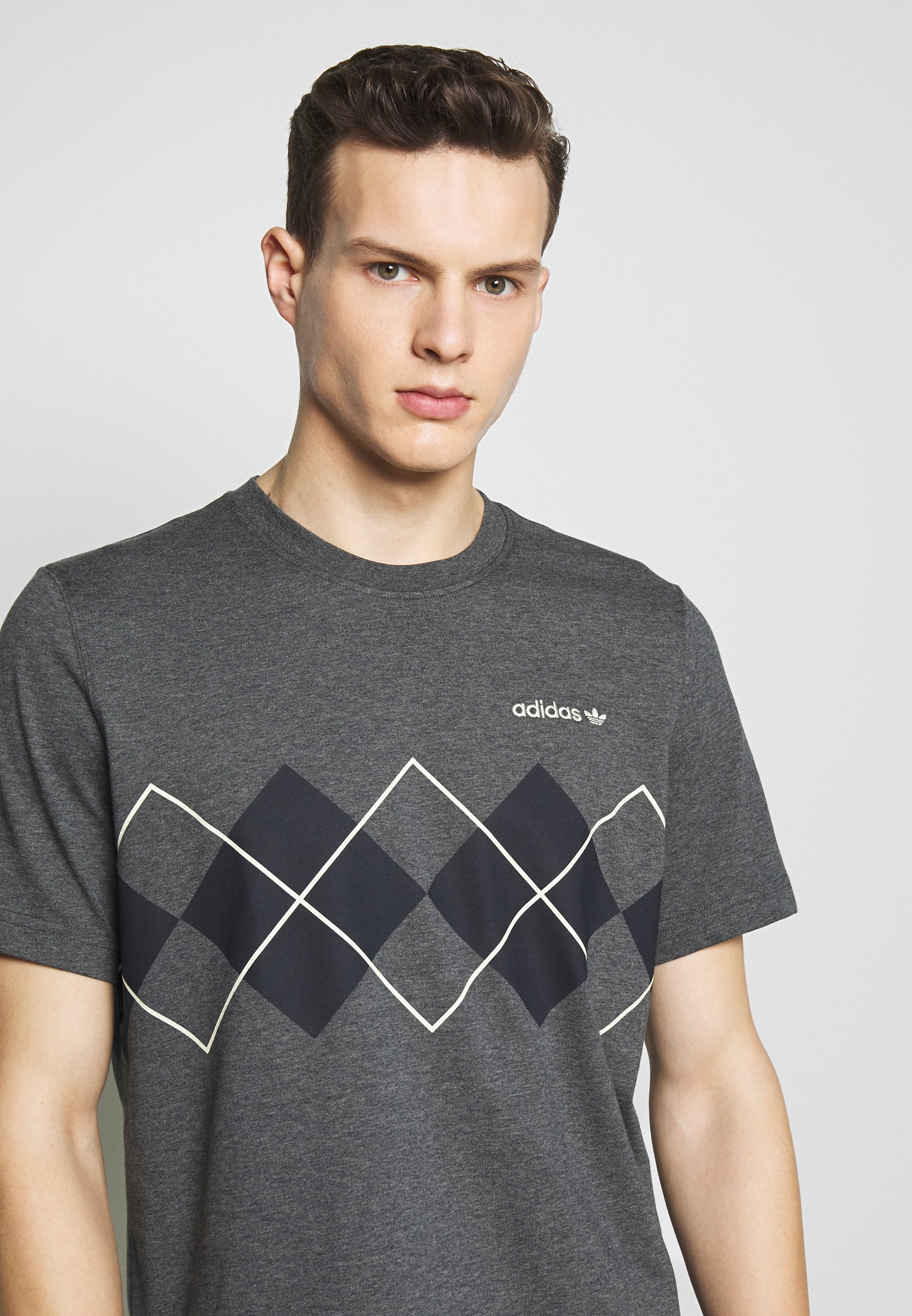 adidas Originals ARGYLE TEE SHORT SLEEVE GRAPHIC TEE T