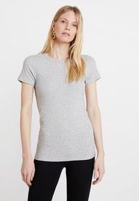 GAP - MOD CREW - Basic T-shirt - heather grey - 0