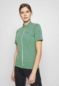 Gore Wear - DAMEN TRIKOT - T-Shirt print - nordic blue - 0
