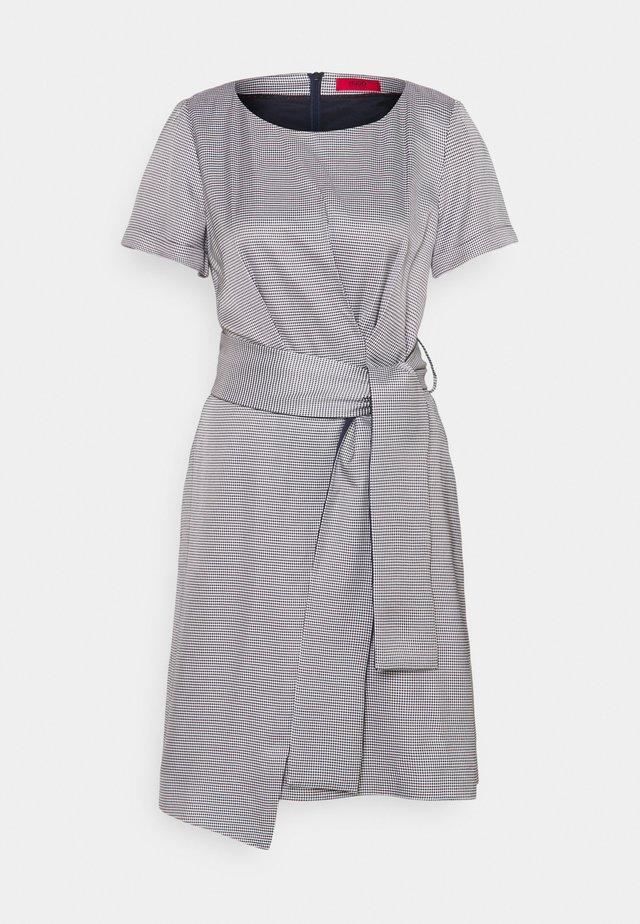 KERANA - Day dress - open blue