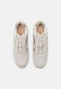 Caprice - LACE UP - Sneakers laag - creme/platin - 5
