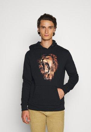 LION HOODY - Hoodie - black