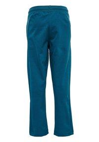 Hummel - Tracksuit bottoms - blue coral green ash - 2