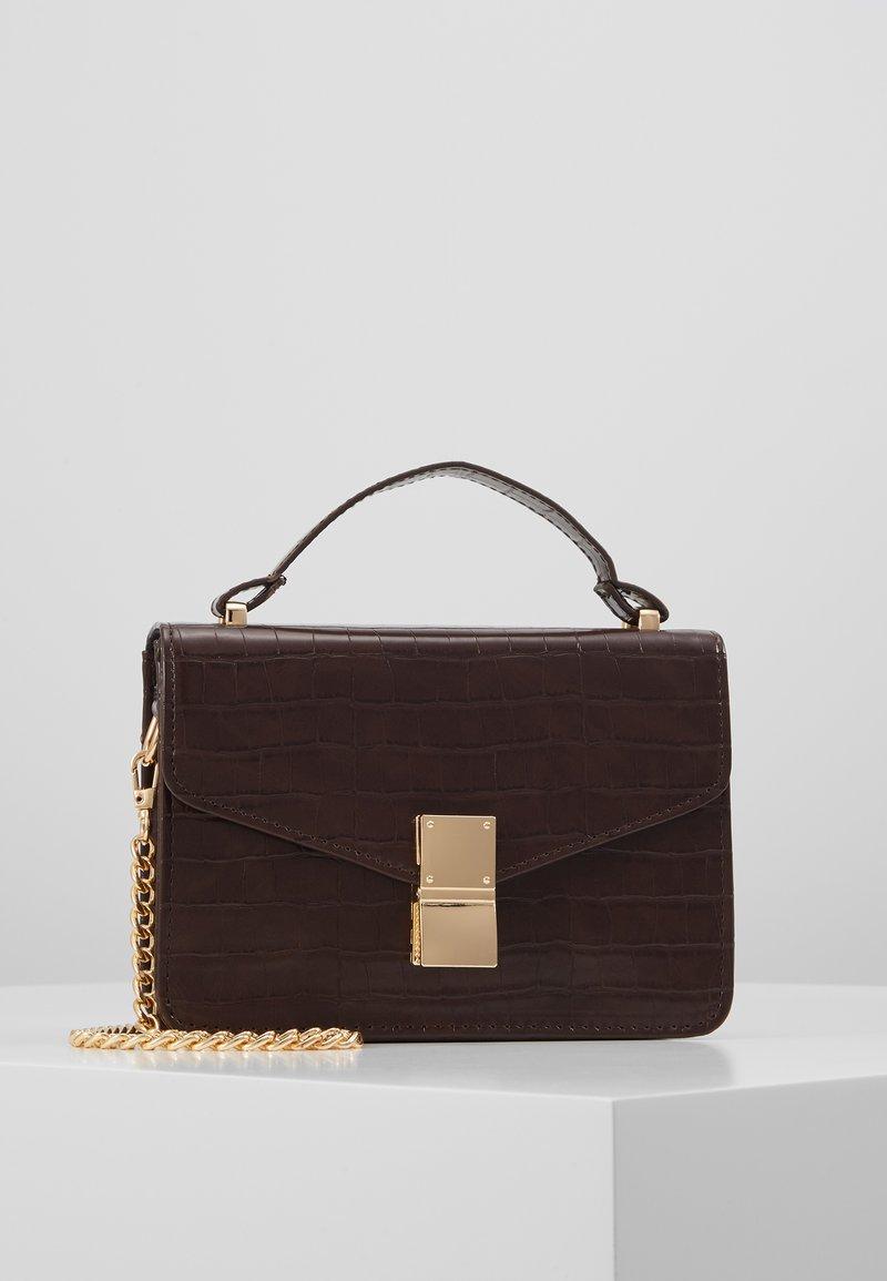 Object - OBJHILLI CROSSOVER - Handbag - chicory coffee