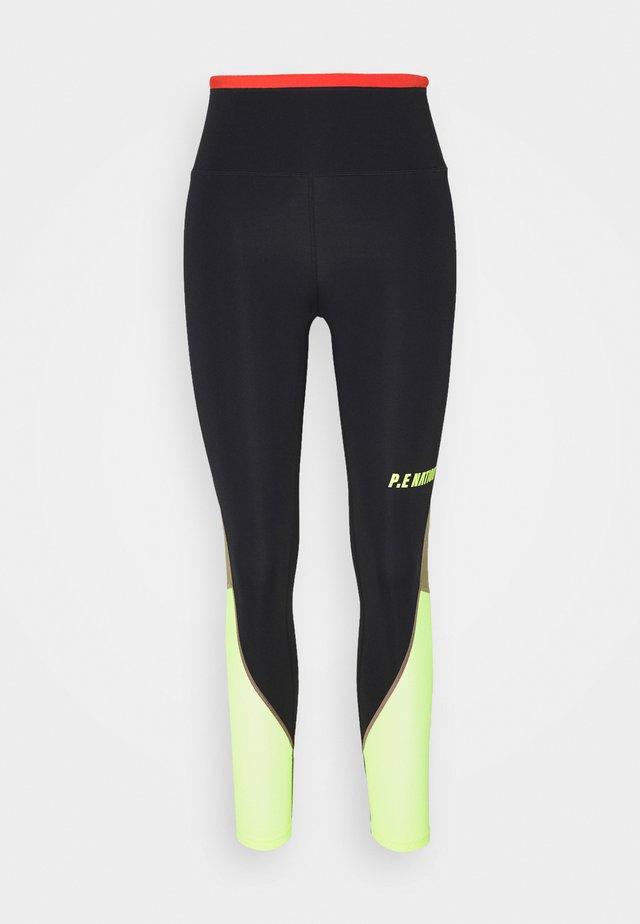 OPPONENT LEGGING - Leggings - black