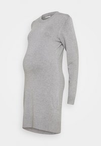 Anna Field MAMA - MATERNITY KNIT DRESS - Sukienka z dżerseju - mid grey melange - 0