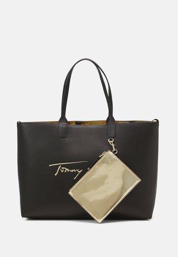 ICONIC TOTE SIGN SET - Shopping bag - black