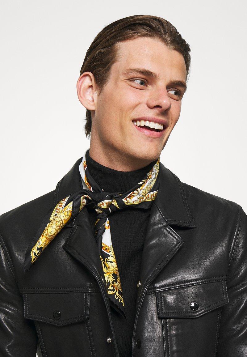 Versace - FOULARD UNISEX - Foulard - black/gold/white