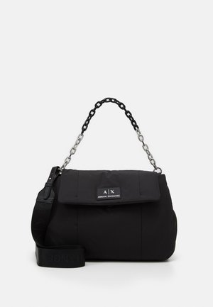 BIG FLAP SHOULDER - Handbag - nero