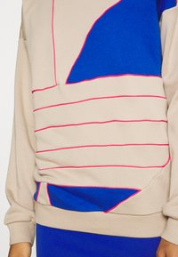 adidas Originals - BIG - Sweatshirt - trace khaki f17/team royal blue/power pink