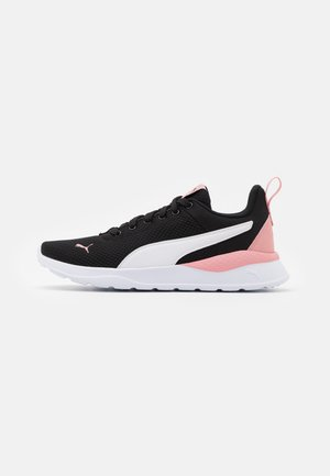 ANZARUN LITE - Sports shoes - black/white/bridal rose